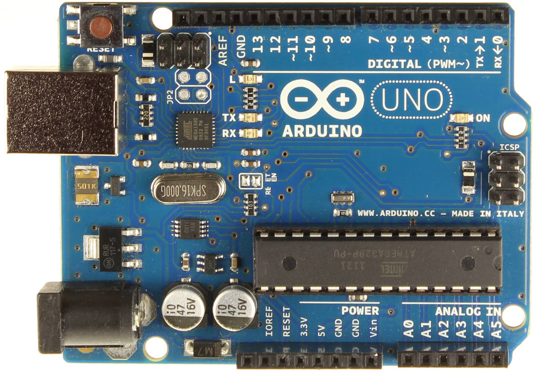 uno-1 The Absolute Beginner's Guide to Arduino | Forefront.io